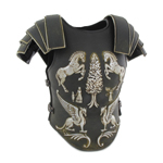 Gladiator Body Armor (Black)