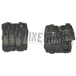 Double pistol & M4 Magazine pouch (Green)
