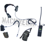 MBITR Radio w/ Radio Switch Pouch & MBITR radio Pouch(Green)