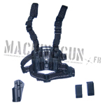 BLACK M1911 CQC Holster