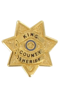 Diecast King County Sheriff Star