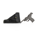 P38 Pistol with Leather Holster (Grey)