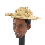Straw hat 7 cm x 3,5 cm (large)