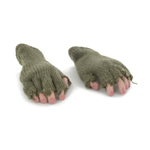 Hands with Mittens (Olive Drab)