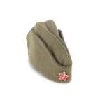 Russian Pilotka Side Cap (Coyote)