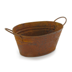 Die Cast Rusty Washtub (Orange)