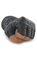 Gloved Mittens Left Hand (Black)