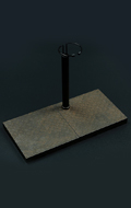 Metal Plate Style Display Stand (Type B)