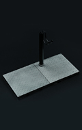 Metal Plate Style Display Stand (Type C)