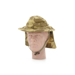Bush Hat DPM Desert with Removable Flap