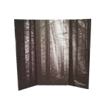 Forest Diorama Background (Grey)
