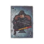 Spade 5 Baron Card