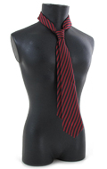 Striped Tie (Red)