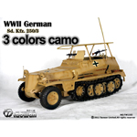 Sd.Kfz.250-3 camouflage 3 couleurs
