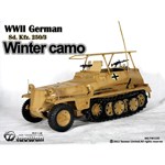 Sd.Kfz.250-3 camouflage hiver
