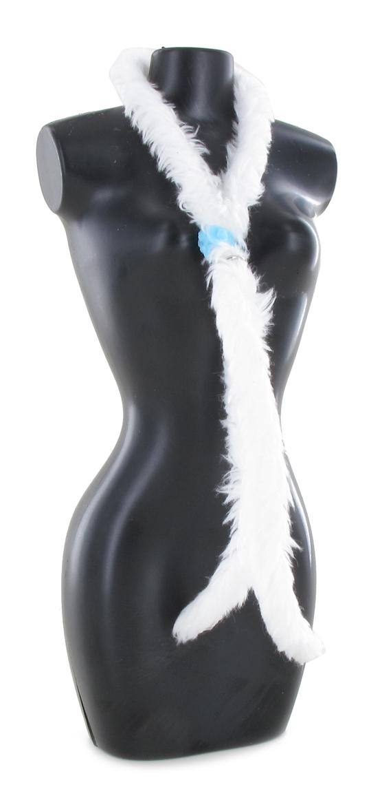 27f9310620c6 Echarpe Boa (Blanc) - Machinegun