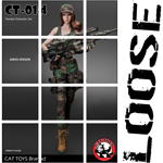 Female Military Suit Set (Woodland)