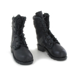 Faradei Leather Boots (Black)
