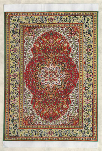 20x30 cm real woven carpet