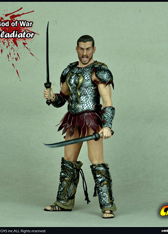 God Of War - Rome Gladiator Set (Silver Version)