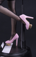 High Heels Female Shoes (Pink)