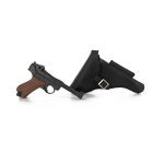 P08 Pistol With Holster (Black)