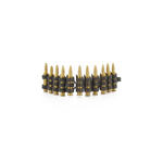 5.56x45mm M855 metal chain ammo (metal)