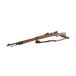 Wood and Die Cast M1898 Mauser Gewehr Rifle (Brown)