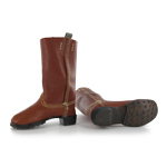 Leather M1866 Marching Boots (Brown)
