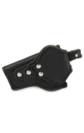 Glock 17 Leather Holster (Black)