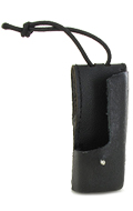 Saber Radio Leather Pouch (Black)