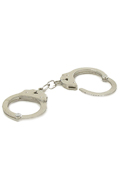 Diecast Handcuffs with Leather Sheath (Black)