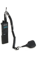 Saber Radio with Handheld Transceiver (Black)