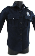 LAPD Police Officer Jacket (Blue)