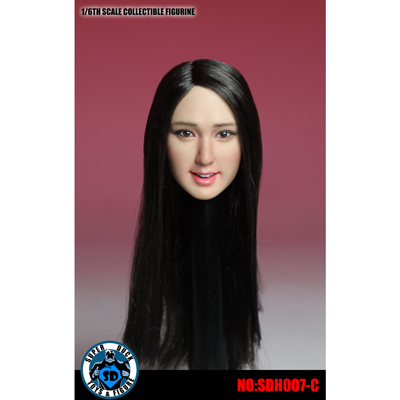headsculpt femme asiatique machinegun. Black Bedroom Furniture Sets. Home Design Ideas
