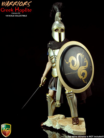 Warriors - Greek Hoplite (Silver Helmet Version)