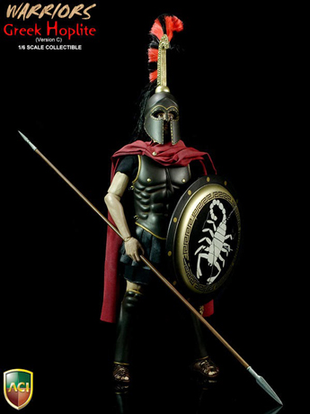 Warriors - Greek Hoplite (J Crest Version)