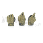 Mechanix gloved hands (sold by 3)
