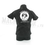 T shirt noir eagle aircrew chief Mc Stache
