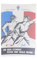 Aux Armes Citoyens Poster (White)