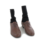 Shoes with Socks (Brown)