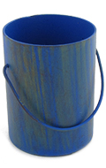 Die Cast Paint Bucket (Blue)
