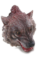 Decapitated Wolf Head (Grey)