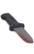 Diecast Bloody Gerber Style Knife (Silver)