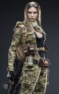 MC Camouflage Women Soldier - Villa