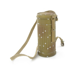 Sand color M38 gas mask canister