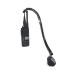 Radio ICOM avec micro déporté (Noir)
