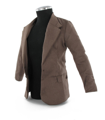 Brown suit jacket (small size)