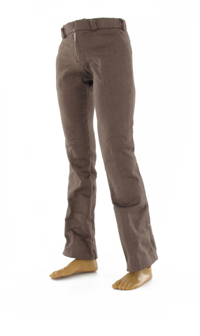 Pantalon de costume marron (Marron)