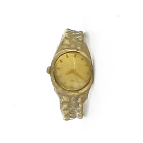 Watch in gold Rollex style